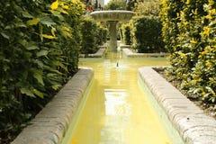Fountain in Malaga Stock Photography