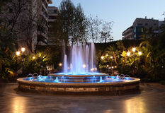 Fountain in Marbella, Spain Royalty Free Stock Images
