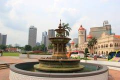 Fountain at Merdeka Square Royalty Free Stock Image