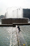 Fountain in Milan and guest Stock Photo