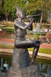 Fountain in Mini Siam Park Stock Photos