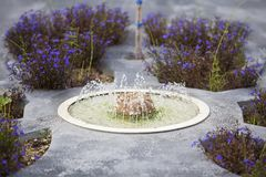 Fountain in miniature Royalty Free Stock Photo