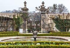 Fountain, Mirabell Garden, Salzburg Stock Photos