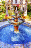 Fountain Mission Ventura California Royalty Free Stock Photos