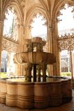 Fountain in the Monastery of Batalha Royalty Free Stock Images