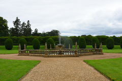 Fountain, Montacute House,Somerset, England Stock Photos