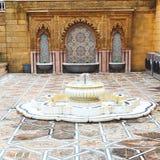 Fountain in morocco africa old antique construction  mousque pal Stock Photos