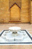 Fountain in morocco africa old antique construction  mousque pal Royalty Free Stock Photography