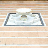 Fountain in morocco africa old antique construction  mousque pal Stock Photo