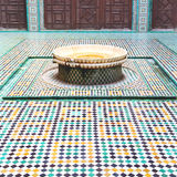 Fountain in morocco africa old antique construction  mousque pal Stock Image