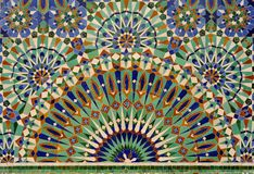 Fountain mosaic Royalty Free Stock Image