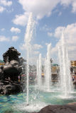 Fountain.Moscow. Rusland Stock Foto's