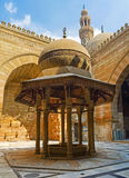 The fountain in mosque's courtyard Royalty Free Stock Images