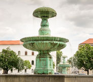 Fountain in Munich Stock Image