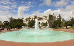 A Fountain at The Nat, San Diego, CA, USA royalty free stock photography