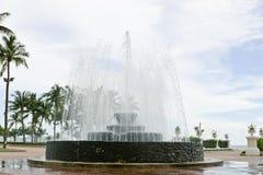 Fountain Near The Beach Stock Photos