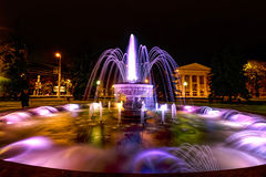 Fountain near the dramatic theater Royalty Free Stock Photo