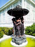 Fountain in Neo-Classical Style Royalty Free Stock Image