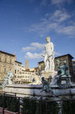 The fountain of Neptune Royalty Free Stock Photo