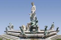 Fountain of Neptune Stock Photography