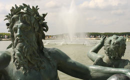 Fountain of Neptune Royalty Free Stock Photography