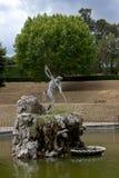 Fountain Neptune, Boboli Gardensi, Florence, Italy Stock Image