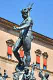 Fountain of Neptune. Bologna. Emilia-Romagna. Stock Images