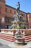 Fountain of Neptune. Bologna. Emilia-Romagna. Ital Stock Photos