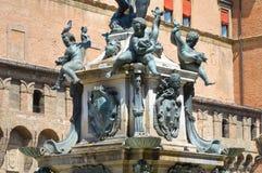 Fountain of Neptune. Bologna. Emilia-Romagna. Italy. Stock Photography