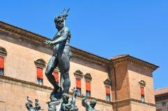 Fountain of Neptune. Bologna. Emilia-Romagna. Italy. Royalty Free Stock Images