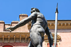 Fountain of Neptune. Bologna. Emilia-Romagna. Italy. Royalty Free Stock Photography