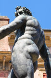 Fountain of Neptune. Bologna. Emilia-Romagna. Italy. Stock Images