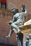 Fountain of Neptune. Bologna. Emilia-Romagna. Italy. Royalty Free Stock Photography