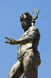Fountain of Neptune. Bologna. Emilia-Romagna. Italy. Stock Photo