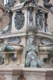 Fountain of Neptune, Bologna. Fountain of Neptune - Fontana di Nettuno by Giambologna 1567, Piazza Maggiore Square, Bologna, Italy stock photos