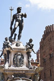 Fountain of Neptune in Bologna. Italy Royalty Free Stock Photo