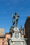 Fountain of Neptune in Bologna Royalty Free Stock Photography