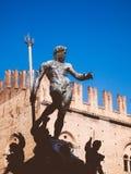 Fountain of Neptune in Bologna, Italy Stock Image