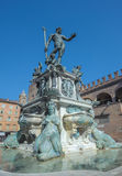 Fountain of Neptune in Bologna, Italy Royalty Free Stock Photo