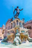 Fountain of Neptune, Bologna, Italy. Stock Photo