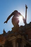 Fountain of Neptune, Bologna, Italy. Royalty Free Stock Image