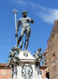 Fountain of Neptune, Bologna. One of the must-see sights of Bologna Stock Photos