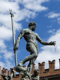 Fountain of Neptune, Bologna. One of the must-see sights of Bologna Royalty Free Stock Photos