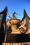 Fountain Neptune, Danzing. Neptun fountain Gdansk Danzing Poland Europe Royalty Free Stock Photo
