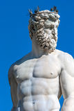 Fountain of Neptune detail, Florence Royalty Free Stock Photography