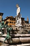 The Fountain of Neptune in Florence, Italy Royalty Free Stock Image