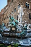 Fountain of Neptune in Florence - Italy Royalty Free Stock Images