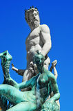 Fountain of Neptune in Florence, Italy Stock Photography