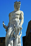 Fountain of Neptune in Florence, Italy Royalty Free Stock Images