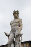 Fountain of Neptune in Florence, Italy Royalty Free Stock Image